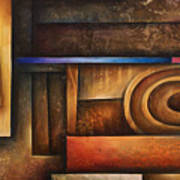 Abstract Design 30 Print by Michael Lang