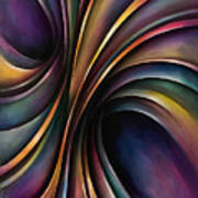 Abstract Design 55 Print by Michael Lang