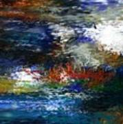 Abstract Impression 5-9-09 Print by David Lane