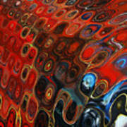 Abstract-infinity Two Print by Patricia Motley