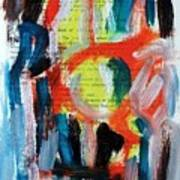 Abstract On Paper No. 34 Print by Michael Henderson