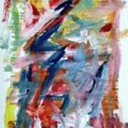 Abstract On Paper No. 36 Print by Michael Henderson