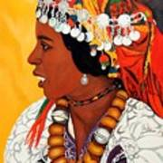 African Beauty Print by Patrick Hunt