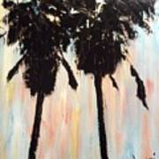Afternoon Palms Print by Sherri Wimberly
