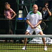 Agassi Warmup Print by Anne Babineau