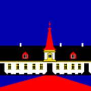 Agersboel Manor House Print by Asbjorn Lonvig