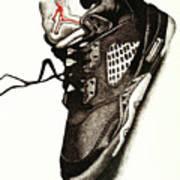 Air Jordan Print by Robert Morin