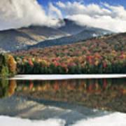 Algonquin Peak From Heart Lake - Adirondack Park - New York Print by Brendan Reals