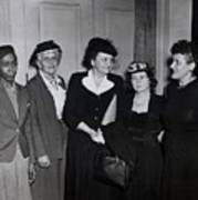 American Women Labor Leaders Print by Everett