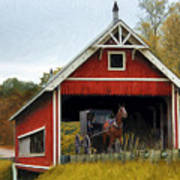 Amish Era Print by Tom Griffithe