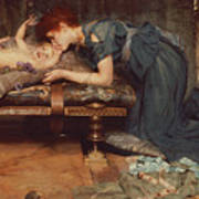 An Earthly Paradise Print by Sir Lawrence Alma-Tadema
