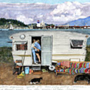 Anacortes Fuel Print by Perry Woodfin