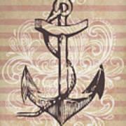 Anchor Print by Adrienne Stiles
