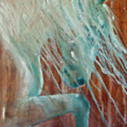 Andalusian Stallion Print by Jani Freimann