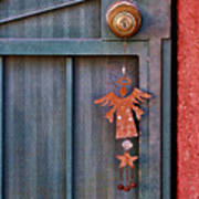 Angel At The Door Print by Carol Leigh