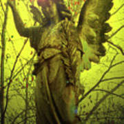 Angel Of Bless No. 04 Print by Ramon Labusch