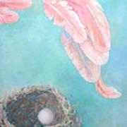Angel's Nest Print by Ana Maria Edulescu