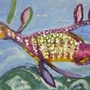 Anthropomorphic Sea Dragon 2 Print by Michelley QueenofQueens