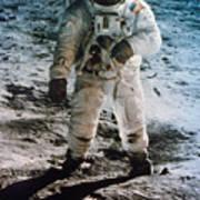 Apollo 11: Buzz Aldrin Print by Granger