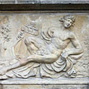 Apollo Relief In Gdansk Print by Artur Bogacki