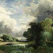 Approaching Storm Clouds Print by Thomas Moran
