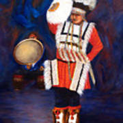Arctic Rhythms Print by Dianne Roberson