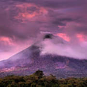 Arenal Volcano Print by Dolly Sanchez