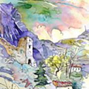 Arnedillo In La Rioja Spain 03 Print by Miki De Goodaboom