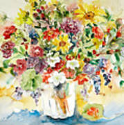 Arrangement IIi Print by Ingrid Dohm