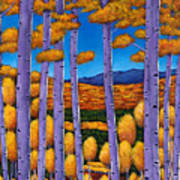 Aspen Country II Print by Johnathan Harris