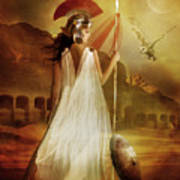 Athena Print by Mary Hood