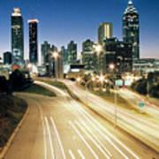 Atlanta Skyline Print by Jason Vanhoy