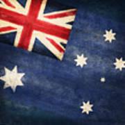 Australia  Flag Print by Setsiri Silapasuwanchai