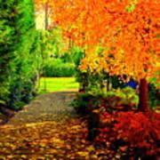 Autumn Colors Print by Aron Chervin