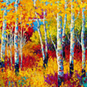 Autumn Dreams Print by Marion Rose