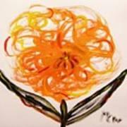 Autumn Hope Flower Print by Mary Carol Williams