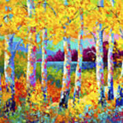 Autumn Jewels Print by Marion Rose