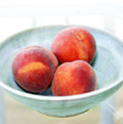 Autumn Peaches Print by Marilyn Hunt