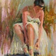 Ballerina Print by David Garrison