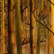 Bamboo Heaven Print by Bedros Awak