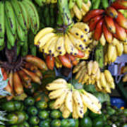 Banana Display. Print by Jane Rix