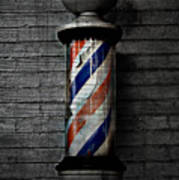 Barber Pole Blues  Print by JC Photography and Art