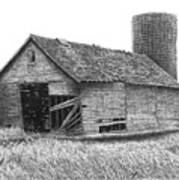 Barn 19 Print by Joel Lueck