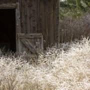 Barn Door Print by Idaho Scenic Images Linda Lantzy
