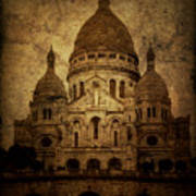 Basilica Print by Andrew Paranavitana