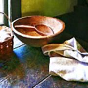 Basket Of Eggs Print by Susan Savad
