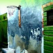 Basketball Court Print by Funkpix Photo Hunter