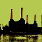 Battersea Power Station London Print by Jasna Buncic