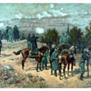 Battle Of Chattanooga Print by War Is Hell Store