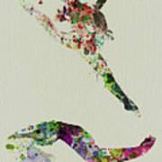 Beautiful Ballet Print by Naxart Studio